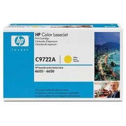 Toner HP C9722A Giallo - 8k