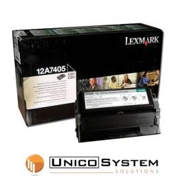 TONER Lexmark 12A7405 Nero 6K