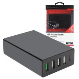 Caricatore USB a 5 porte -...