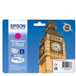 Cartuccia EPSON T7033 Magenta