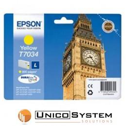 Cartuccia EPSON T7034 Giallo