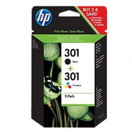 Cartuccia KIT HP 301 Nero -...