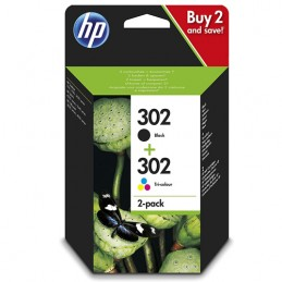 Cartuccia KIT HP 302 Nero -...