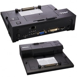 Docking Dell E-Port Replicator