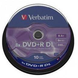 DVD+R 8.5 GB 8x Verbatim 10pz