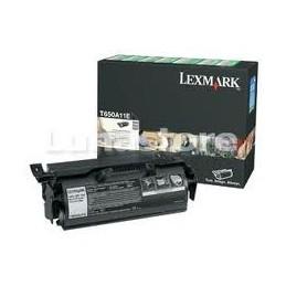 TONER Lexmark T650A11E Nero 7K