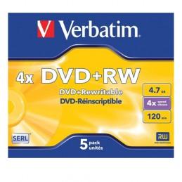 DVD+RW Verbatim 4,7GB...