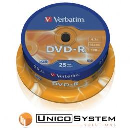 DVD-R 4.7 GB 16x Verbatim 25pz