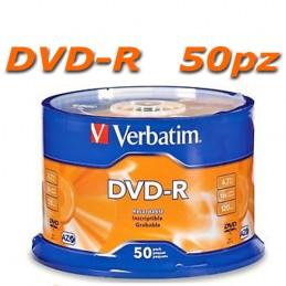 DVD-R 4.7 GB 16x Verbatim 50pz