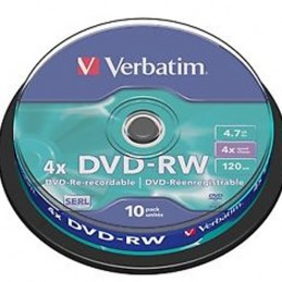 DVD-RW Verbatim 4,7GB 10pcs...