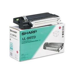 Toner SHARP AL-100TD Nero 6k
