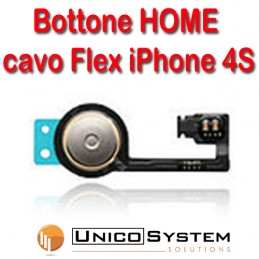 Flat tasto home per apple...