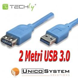 Cavo USB 3.0 prolunga A-A...
