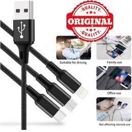 Cavo USB Multiplo, 3 in 1...