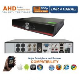 DVR AHD 4CH H.264 SECURITY...