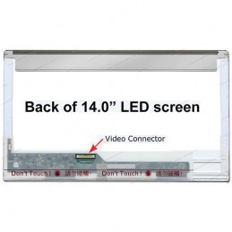 "Display LED 14"" 40 pin 2.5 cm"