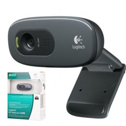 Webcam HD C270 Logitech 720P