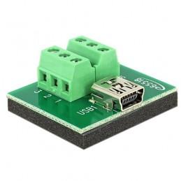 Adattatore Mini USB Femmina...