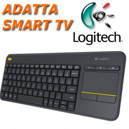 Logitech Touch K400 Plus...