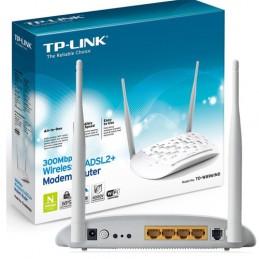 Modem Router ADSL2+ 300Mps...