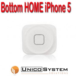 Pulsante  HOME iPHONE 5 Bianco