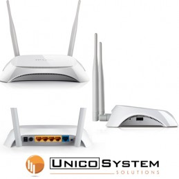 Router WiFi 3G/4G 300Mps 4P...
