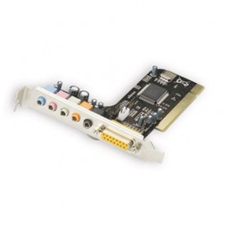 Scheda PCI audio Dolby 5.1...