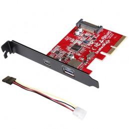 Scheda PCI-e USB 3.1 & Type-C