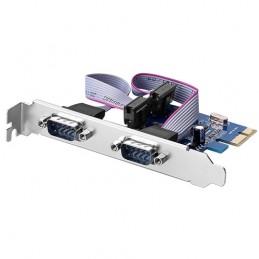Scheda PCI-Express 2 x Seriale