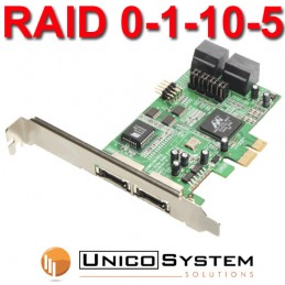 Scheda PCI-Express x1  RAID...