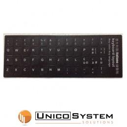 Sticker Tastiera Black...