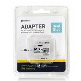 Adattatore da 2 Micro-SD a...